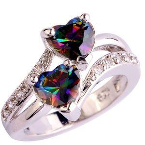 Jewelry - Beautiful Rainbow Beauty Ring (Pre-Order)